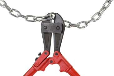 Chain boltcutters